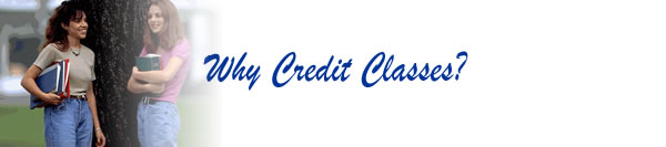 Why Credit Classes?
